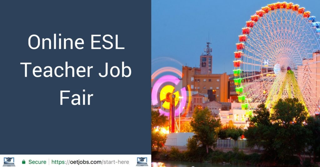 Online ESL Teacher Job Fair