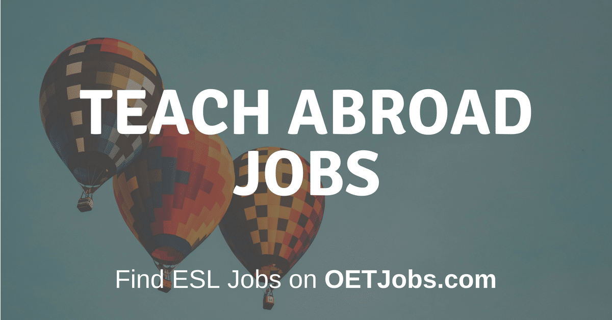 Teach Abroad OETJobs
