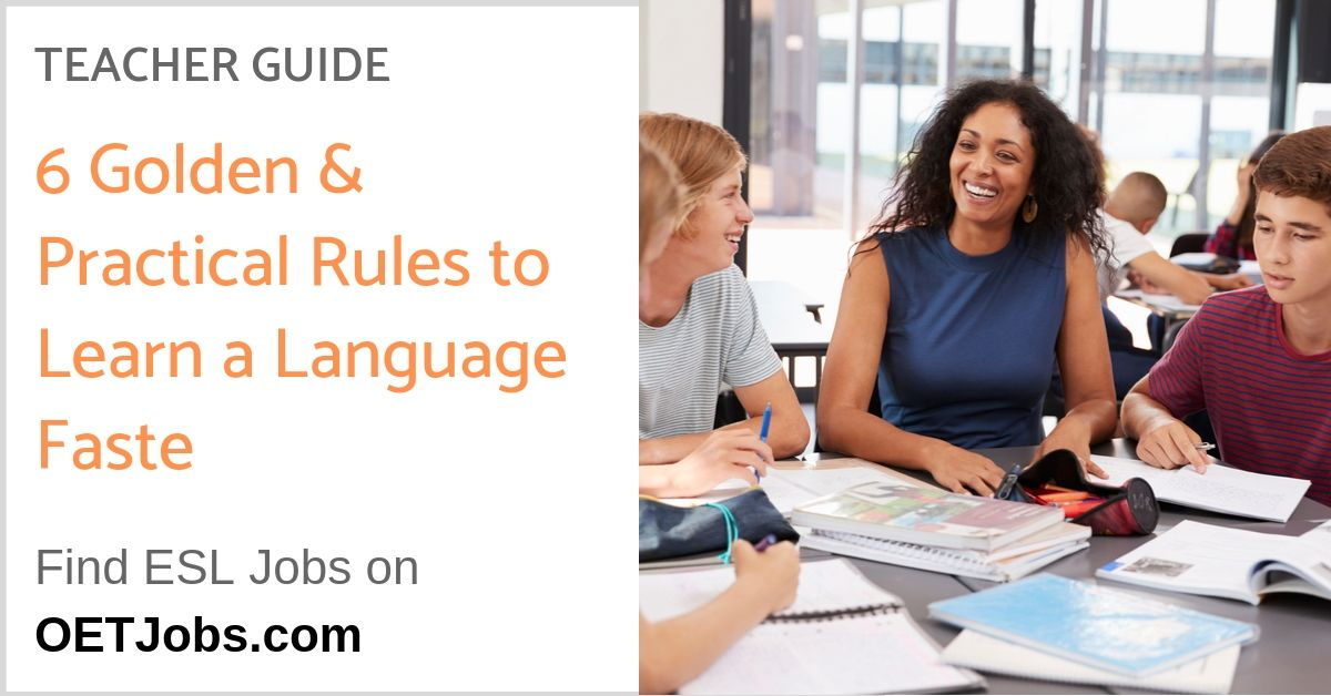 6 Golden Practical Rules to Learn a Language Faster 1 - 6 Golden & Practical Rules To Learn A Language Faster